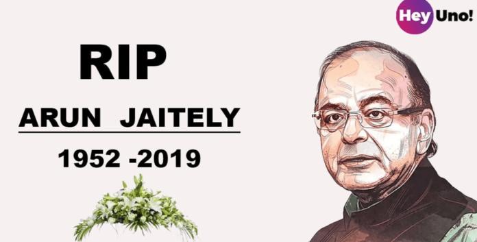 RIP Arun Jaitley