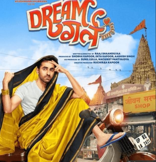 Ayushman as Dream Girl